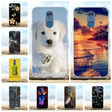 For LG Q7 Phone Case Ultra Thin Soft TPU Silicone 5.5 inch For LG Q7 Plus Cover Dog Patterned For LG Q7 Alpha Q7a Shell Funda цена