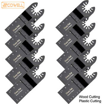 30% OFF 100pcs 34mm Standard Oscillating Multi Tool Plunge Saw Blades fit for Multimaster power tools Fein,Dremel,Bosch Jigsaw - DISCOUNT ITEM  30% OFF All Category