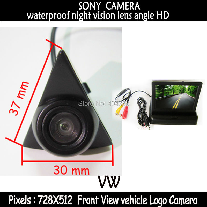 Wire Car Front Side Rearview Camera Reverse Backup Camera