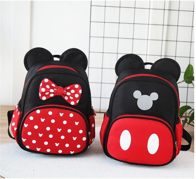 2 Sac D'école Mickey Cartables Pour Enfants