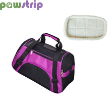pawstrip 4 Colors Small Dog Carrier Bag Folding Portable Cat Soft Sided Shoulder Outdoor Pet Travel For Cats