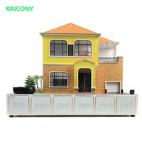 3d house model building diy kits smart home automation science project most powerful control by mobile phone switch voice PC