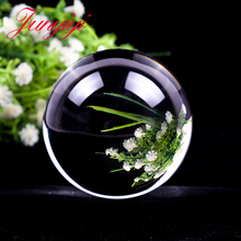 Magic Glass Ball Quartz Fengshui Photography Globe Crystal Craft Transparent Ornament Home Decorative Gift