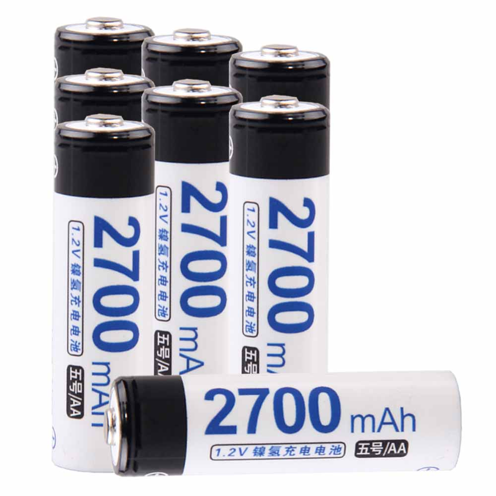Lowest price 8 piece AA battery 1.2v batteries