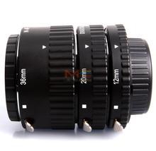 Meike MK-N-AF-A Metal Auto Focus AF Macro Extension Tube Set for Nikon Camera