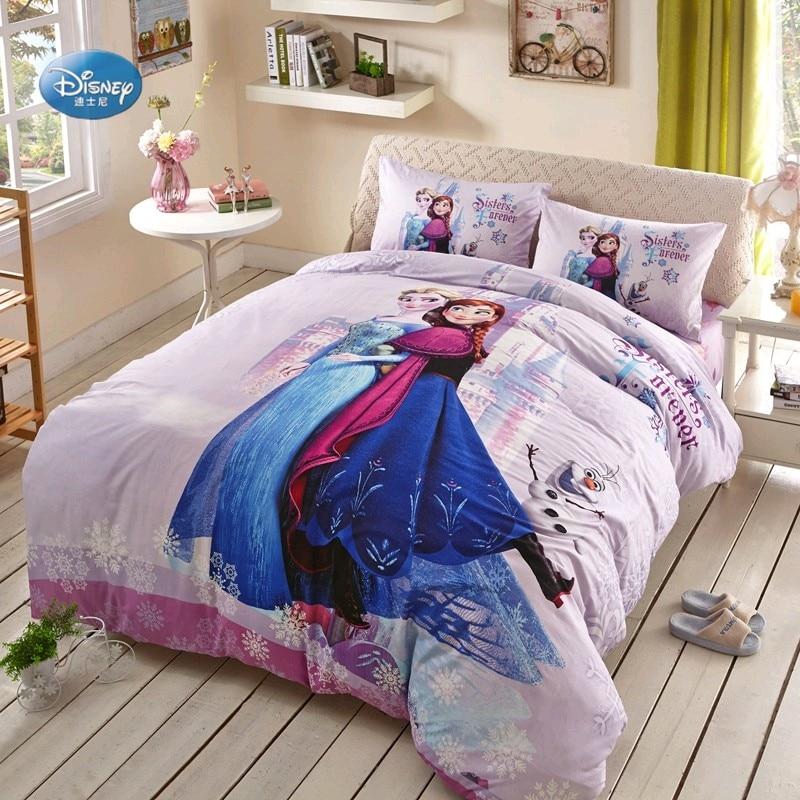 Cheap Bedroom Sets Kids Elsa From Frozen For Girls Toddler: Disney Frozen Elsa Anna Bedding Sets Girl's Children's
