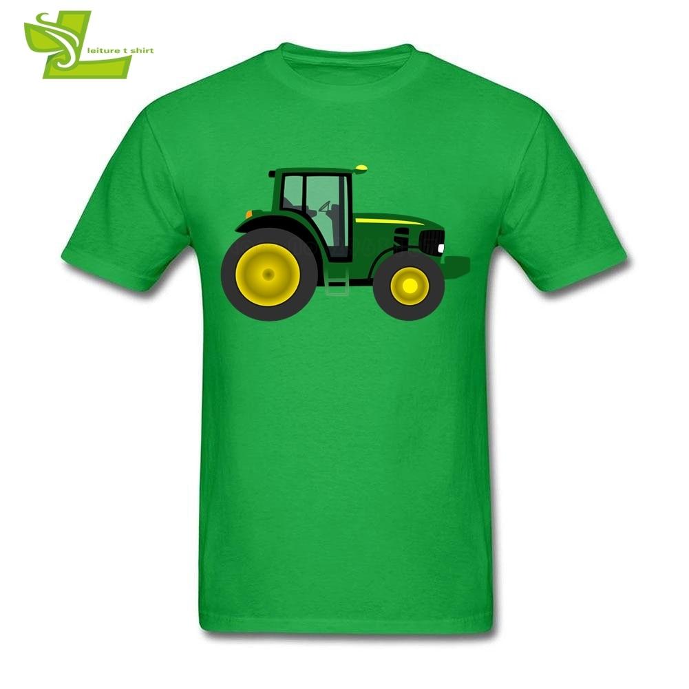 Farm Farm Tractor Man T Shirt Leisure Classic Comfortable Tops Men Short Sleeve O Neck Tees Teenboys Latest Simple Clothing