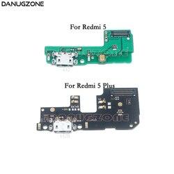 USB chargement Dock prise Jack prise Port connecteur carte de Charge câble souple pour Xiaomi Redmi 5 Plus