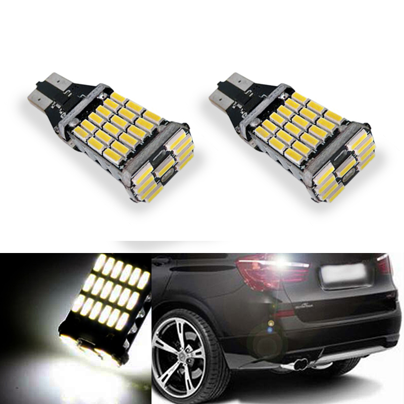 2x t15 w16w led auto lamp canbus backup reverse light no. Black Bedroom Furniture Sets. Home Design Ideas