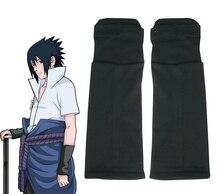 Envío Gratis Naruto Shippuden Sasuke Uchiha de Handguard Negro Anime Cosplay Accesorios