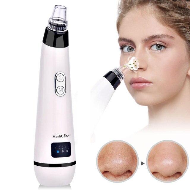 Blackhead Remover Skin Care Face Clean Pore Vacuum Acne Pimple Removal Vacuum Suction Facial Diamond Dermabrasion Tool Machine