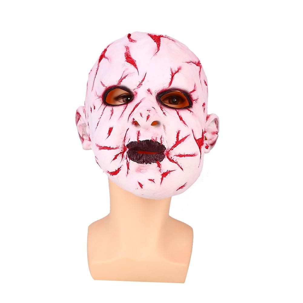Halloween Ghost Doll Baby Face Mask Horrible Tricks Prank Fancy Dress Novelty