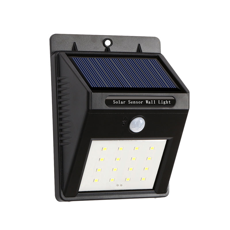16leds Solar Led Lamp Outdoor Waterproof Garden Lights Solar Power Led Wall Light with Motion Activated Auto On/Off Led Lighting