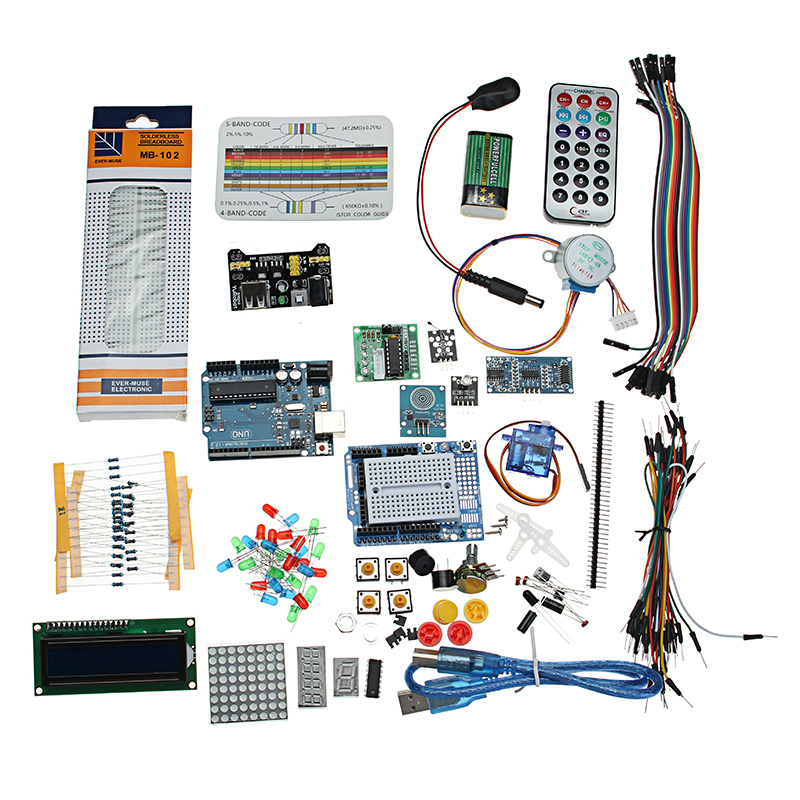 NEW Starter Project Kit With UNO R3 Mega 2560 For Nano Breadboard Kit Components For ArduinoNEW Starter Project Kit With UNO R3 Mega 2560 For Nano Breadboard Kit Components For Arduino