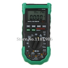 New Mastech MS8229 5 in 1 Auto range Digital Multimeter Lux Sound Level Temperature Humidity Tester Meter 4000 counts