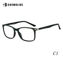 Cosmoline Brand New Ultra Light TR Glasses Frame Stylish Men's Eyeglasses Frames Myopia Glass Frame for Men 496