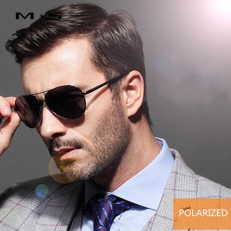 MS Polarized Sunglasses Men Driving Mirror Sun glasses Male Fishing Female Outdoor Sport Eyewear For Men S2017