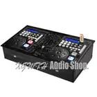 Contrôleur USB Pro DJ pour jouer aux joueurs en jouant au disque Console de mixage Audio Console de mixage sonore avec écran couleur CD