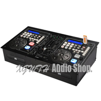Pro DJ USB Controller to Play Players Playing Disc Audio Mixing Console Sound Mixer with CD Color Screen