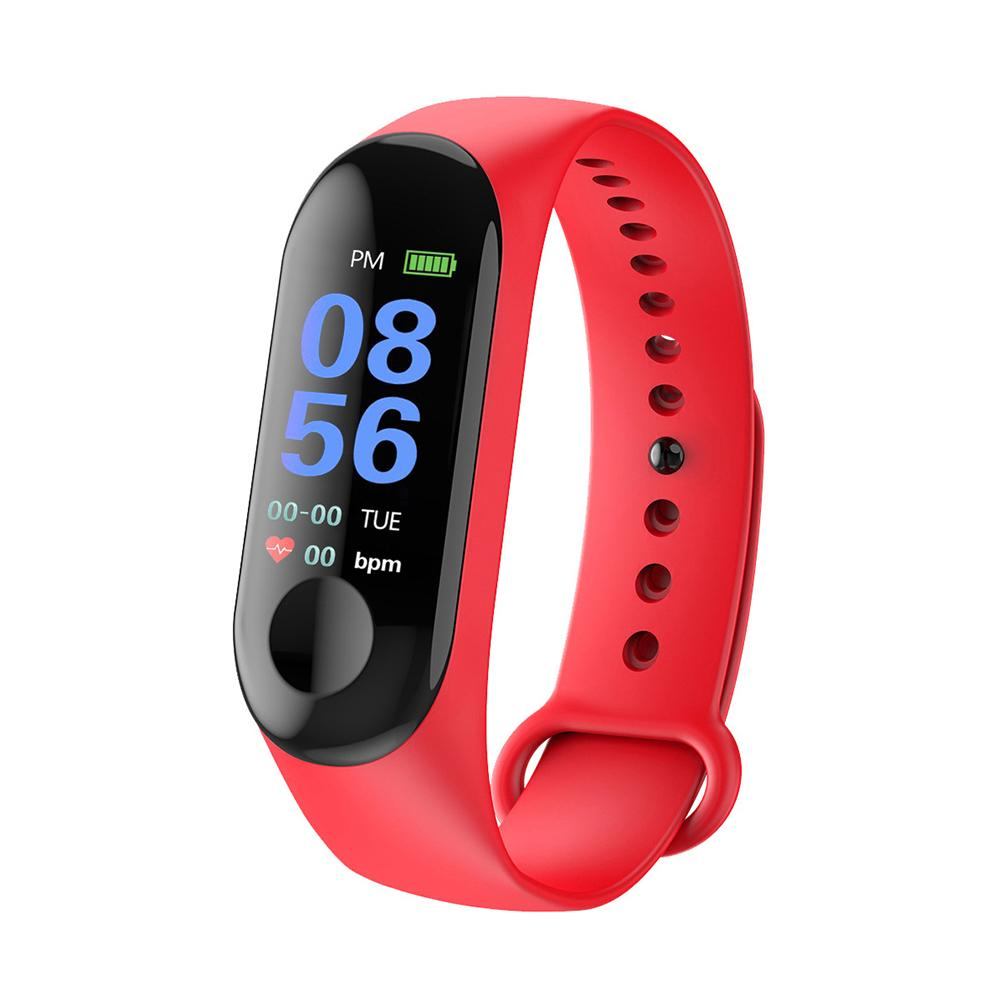 Image 3 - Smart Watch Color Screen Waterproof Fitness Tracker With Heart Rate Blood Pressure Monitor Activity For Android & IOS 2 Color-in Smart Watches from Consumer Electronics