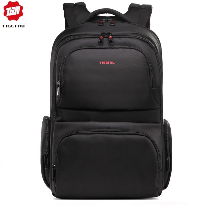 Tigernu Anti Theft 15.6 Waterproof Nylon Men's Backpacks Women Backpack Schoolbag For 14 15 Laptop Notebook Bag Mochila Feminina