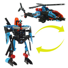 ФОТО 275pcs variability tank robot 2 in 1 building blocks compatible legoed soldier figures weapon bricks children toys for boy