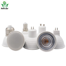 1PCS/LOT E27 E14 MR16 GU5.3 GU10 Lampada LED Bulb 9W 220V Bombillas LED Lamp Spotlight Lampara Spot Light(China)