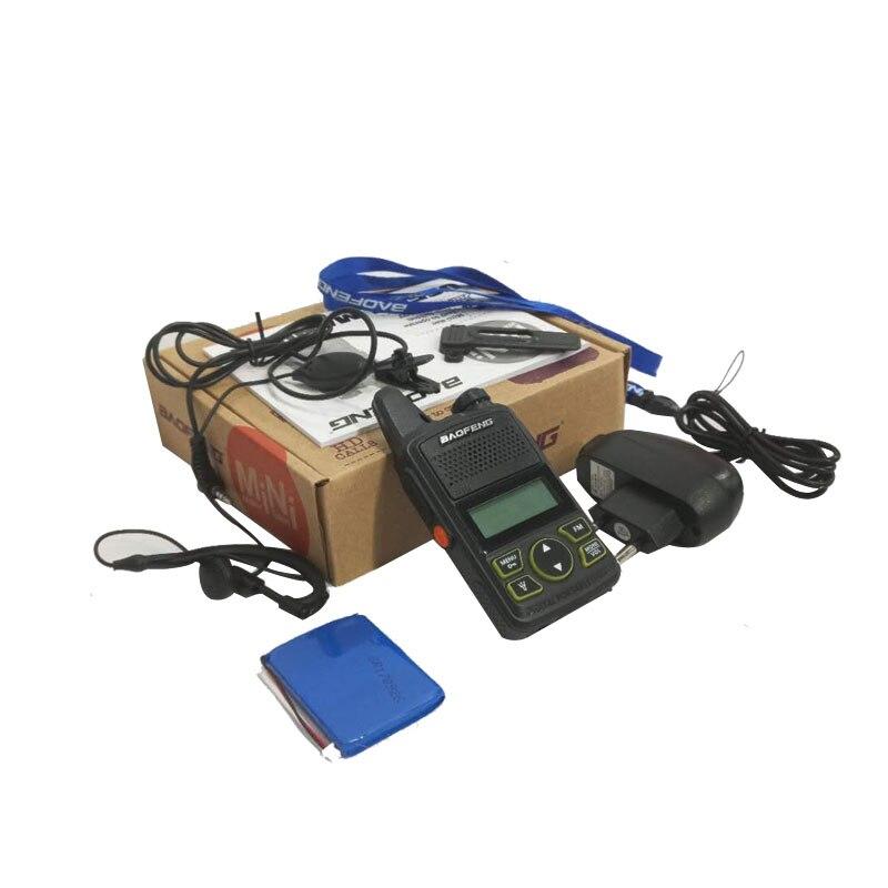 Ptt Baofeng BF-T1 Portable Kopfhörer Walkie Talkie Set Mit Handheld Hotel Zivilen BF T1 Radio Comunicacion Schinken HF Transceiver