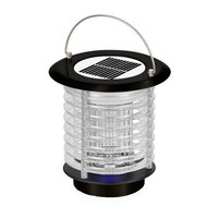 Solar LED Light Mosquito Insect Killer Light Garden Lawn 2019 New Mosquito Double Head Solar Powered LED Light Mosquito Pest A1