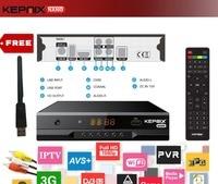 Kepnix Nano 2pcs Iptv M3u Vs Freesat V8 Super DVB S2 Satellite Receiver Support PowerVu Biss
