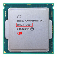 Engineering version of INTEL I7 PROCESSOR ES QHQJ 1.6 GHZ AS QHVX QHQG Intel Skylake CPU 1.6 Internal graphics HD530