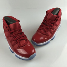c22c497e329593 11 Gym Red Chicago Midnight Navy WIN LIKE 82 Bred Basketball Shoes 11s  Space Jam Mens