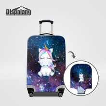 Travel On Road Luggage Protective Cover Case For A Suitcase Galaxy Unicorn Cartoon Dust Cover For 18-32 Inch Travel Accessories