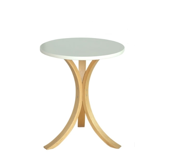 Nordic Ikea Style Simple And Stylish Solid Wood Coffee Table Round Side