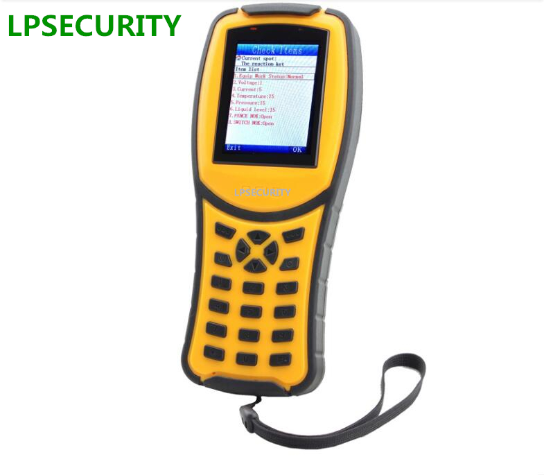 LPSECURITY 125kHz RFID Online GPRS Tracking Security Guards/Real Time GPRS Guard Tour Patrol gprs real time fingerprint access guard tour system