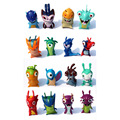 16pcs/set 4.5cm-5cm Anime Cartoon Slugterra Mini PVC Action Figures Toys Dolls Child Toys