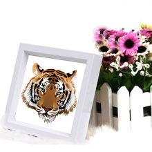 цена на Penuh persegi Berlian Bordir Kustom, 5D diy Berlian lukisan harimau kepala, Berlian mosaik pola, menjahit, 5d puzzle, dekorasi r