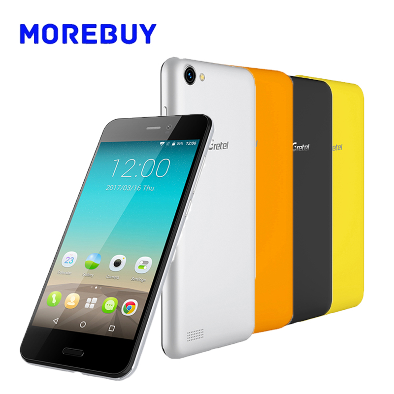 Gretel a7 smartphone mtk6580 quad core 1.3 ghz 16g rom 1g ram Android 6.0 Teléfo