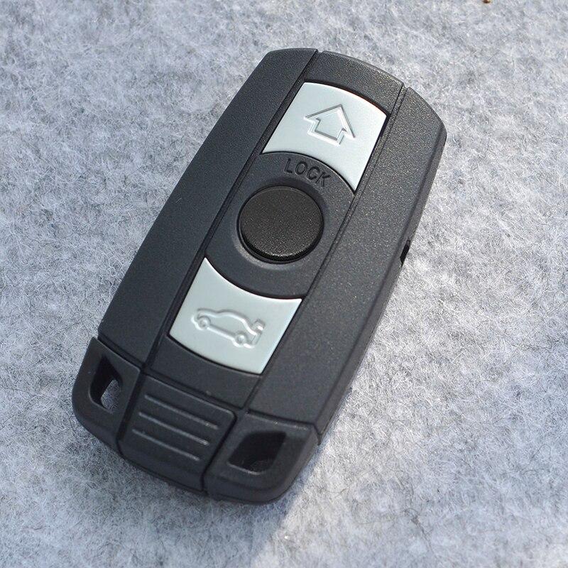 Remote Key Fob Case Shell Blade For BMW SERIA 1 3 5 6 7 E90 E91 E93 Auto Car