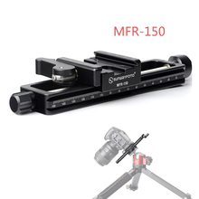 Ulanzi For Close up Photography Professional Aluminum Macro Slider 150MM Photography Focus Rail Slider Tripod Max