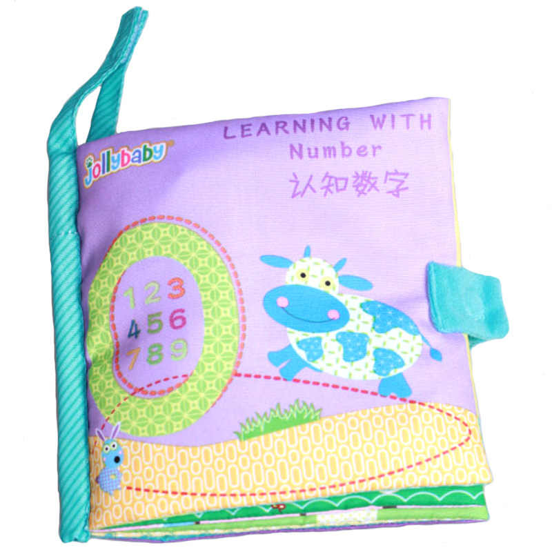 Baby Early Educational Toys Number Learning Book Cognitive ...