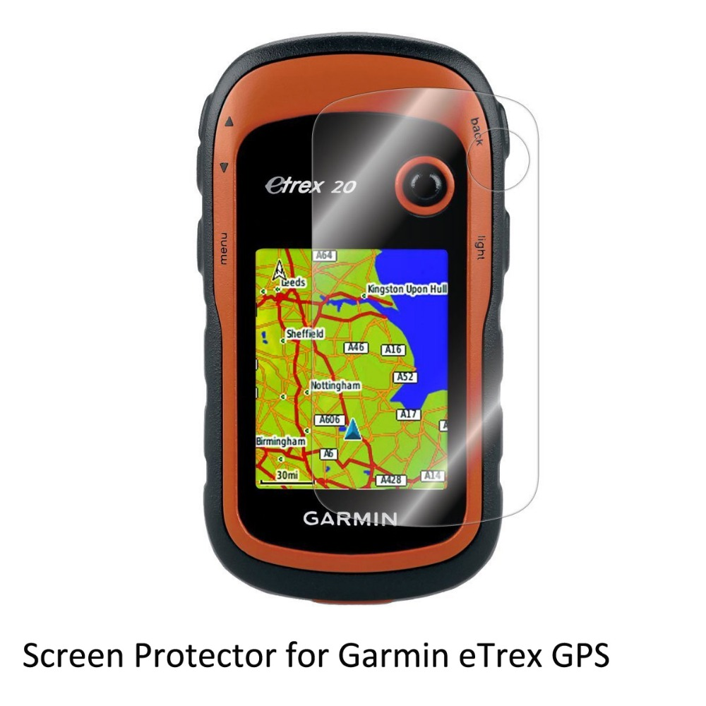 3* Clear LCD Film Anti-Scratch Screen Protector for Hiking Handheld GPS Navigator Garmin eTrex 10 20 30 eTrex 10x 20x 30x 309x cuetec 2 pc special edition black
