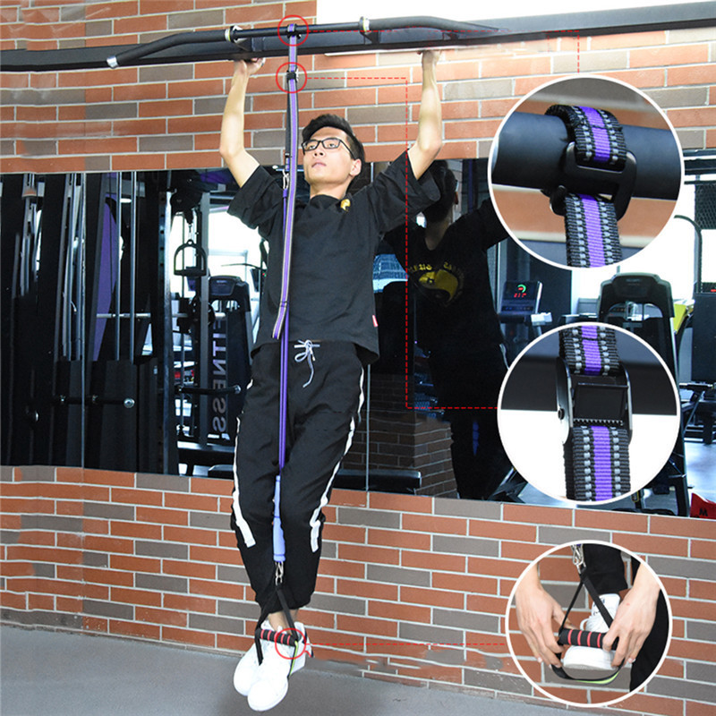 Resistance Band Pull Up Bar Slings Straps Sport Home