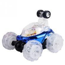Stunt Car 360 Turbo Twister RC Rechargeable Remote Control Flashing Light Sound Gift