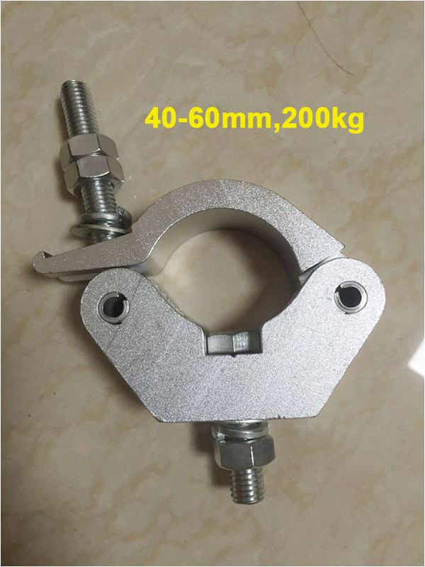 40-60mm,200kg stage pipe clamp