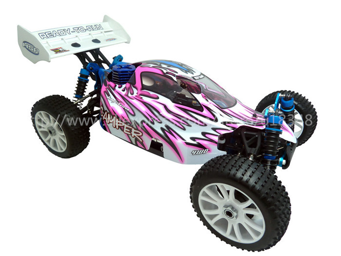 NEW HSP Baja 1/8th Scale Nitro Power Off Road Buggy RTR CAMPER 94860 with 2.4Ghz Radio Control RC Car Remote Control Toys