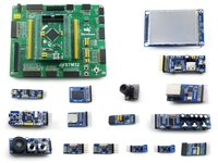 STM32 Development Board STM32F407VET6/STM32F407VGT6 MCU Open407V-C Evaluation Kit+PL2303 USB UART Boar+14 Accessory Modules Kits