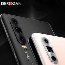 For Huawei P20 Mate 20 Pro P30 Lite Camera Full Protection For Huawei P20 Pro Camera Lens Protector Metal Plating Cases Covers(China)