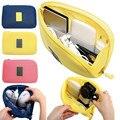 Bolsa de Almacenamiento Digital Portátil de viaje A Prueba de agua A Prueba de Choques Electrónica Accesorios Caja Del Teléfono Kit de Herramienta Del Maquillaje Organizador de Cables