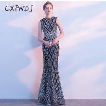 79ca83474 Desgaste del vestido de noche del banquete femenino elegante sección larga  vestido empresa Reunión Anual del anfitrión del parti.